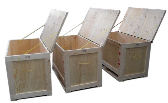 handled crates